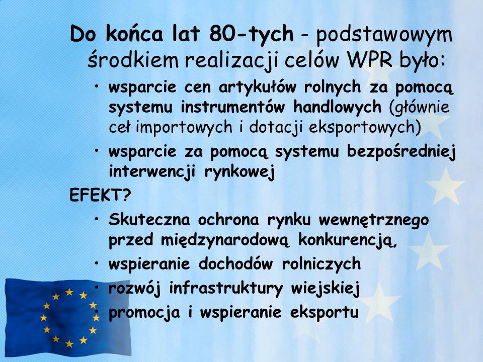 Rozwój produkcji żywności ekologicznej, wykorzystujący rozdrobnioną strukturę polskich gospodarstw, duże zasoby niewykorzystanej siły roboczej w gospodarstwach chłopskich, największe w Europie zasoby nieskażonej (ze względu na niski poziom chemizacji polskiego rolnictwa) ziemi rolniczej.