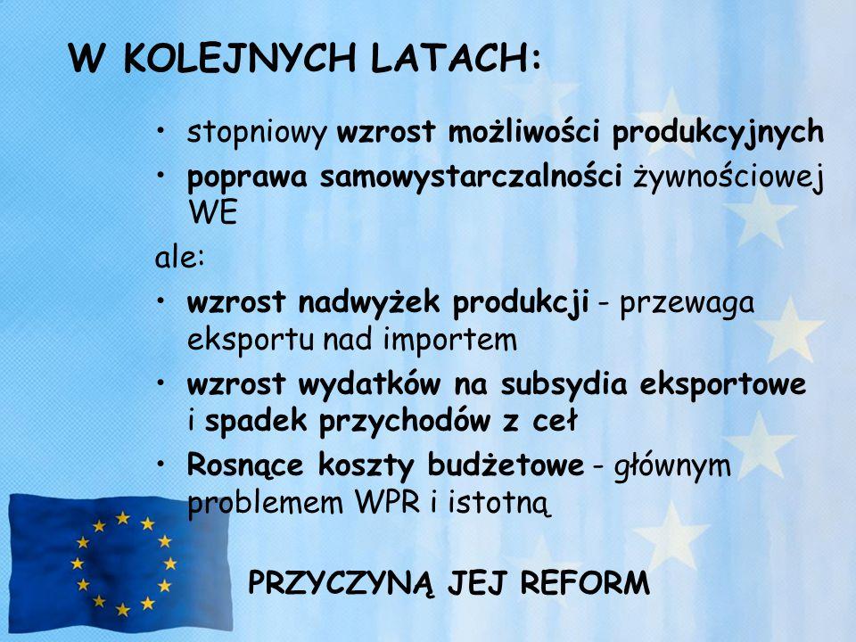 Wsparcie rozwoju agroturystyki i turystyki wiejskiej, pozwalających wykorzystać naturalne walory środowiska i krajobrazu wielu regionów Polski dla zaspokojenia potrzeb wypoczynkowych i rekreacyjnych społeczeństwa.