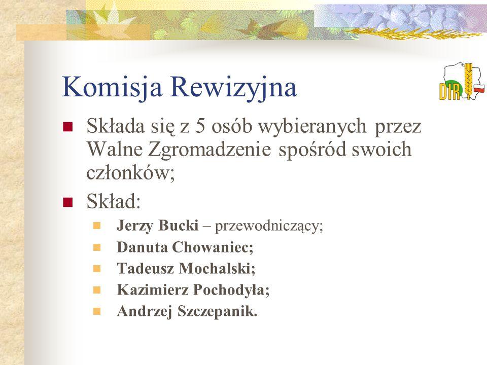 """Działalność DIR """"Wieś Dolnośląska Dolnośląska Izba Rolnicza wydaje """"Wieś Dolnośląską jako wkładkę do czasopisma """"Poradnik Rolniczy w nakładzie 8 tys."""