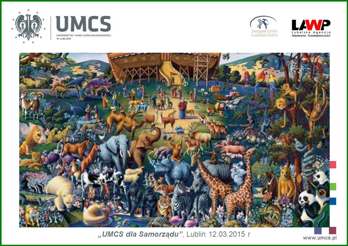 """www.umcs.pl """"UMCS dla Samorządu"""", Lublin 12.03.2015 r Kazimierz Trębacz WYDZIAŁ BIOLOGII I BIOTECHNOLOGII UMCS BIO - RÓŻNORODNOŚĆ"""