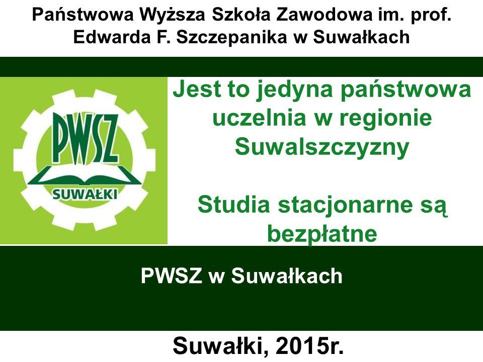 PWSZ w Suwałkach Państwowa Wyższa Szkoła Zawodowa im.