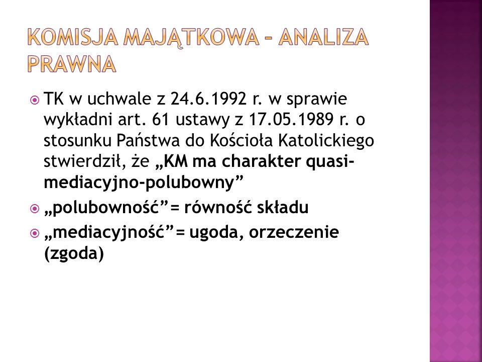  TK w uchwale z 24.6.1992 r. w sprawie wykładni art.