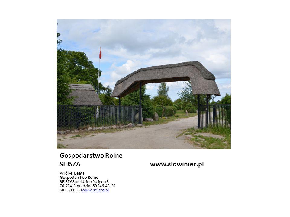 POLANA WWW.SLOWINIEC.PL POLANA ANTONI KLIMOWICZSMOŁDZIŃSKI LAS 21 76-214 SMOŁDZINO604 259 062www.morze-czolpino.plwww.morze-czolpino.pl