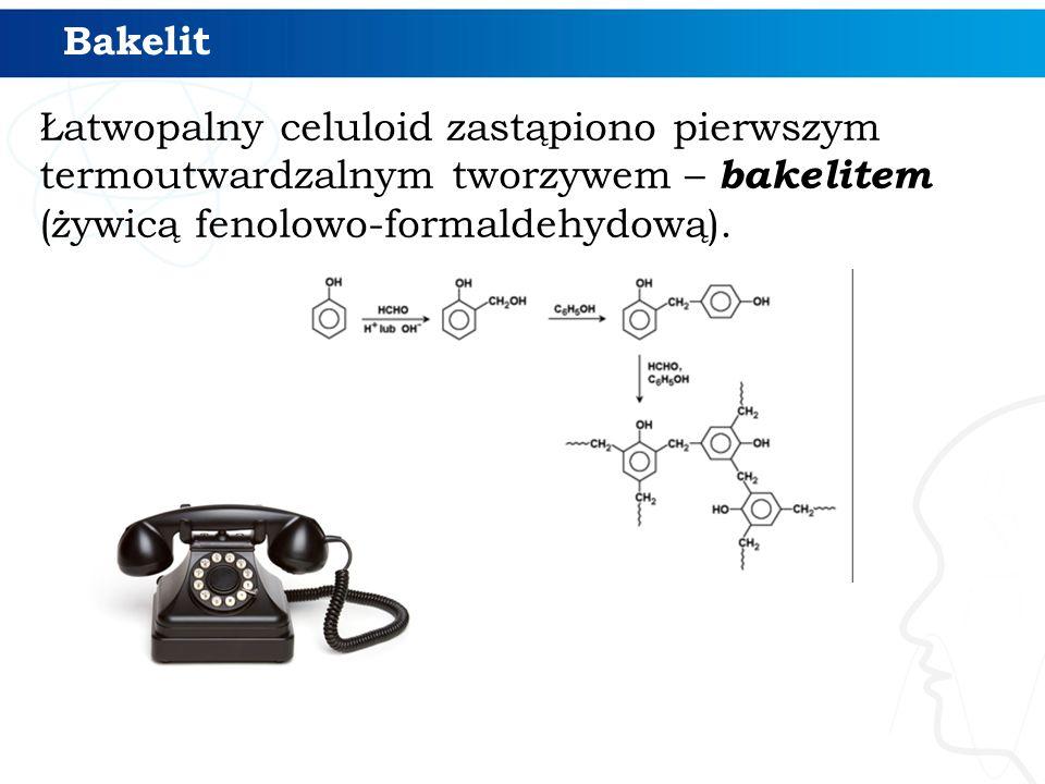 Łatwopalny celuloid zastąpiono pierwszym termoutwardzalnym tworzywem – bakelitem (żywicą fenolowo-formaldehydową). Bakelit