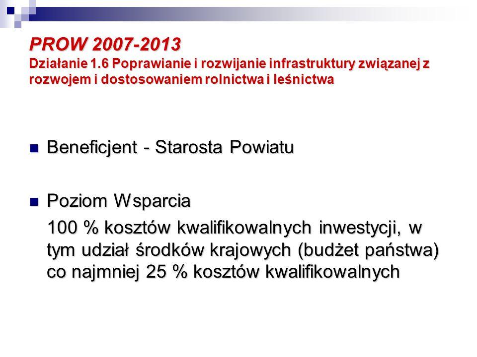 PROW 2007-2013 Oś 4.Leader Działania dla małych projektów mogą dotyczyć: 4.