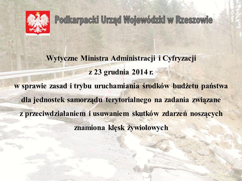 Wytyczne Ministra Administracji i Cyfryzacji z 23 grudnia 2014 r.