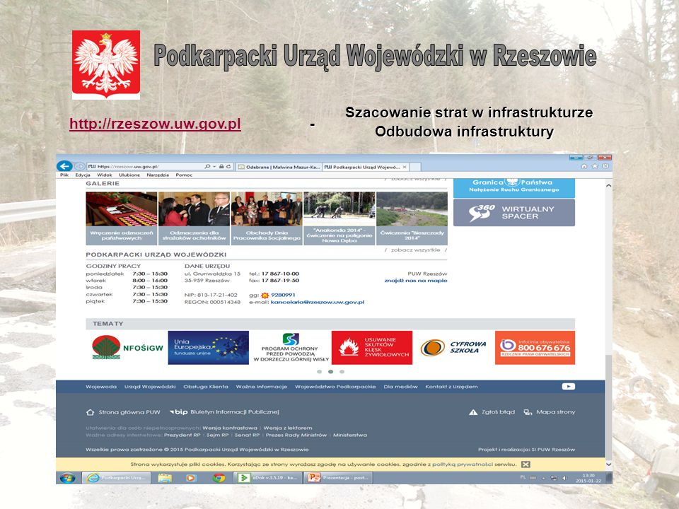 Wytyczne Ministra Administracji i Cyfryzacji z 23 grudnia 2014 r. w sprawie zasad i trybu uruchamiania środków budżetu państwa dla jednostek samorządu