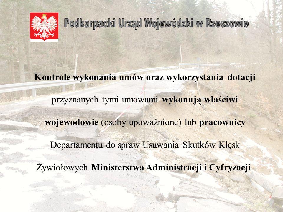 Kontrole wykonywane są na podstawie planów kontroli sporządzonych przez właściwych terytorialnie wojewodów lub na podstawie planów kontroli zatwierdzonych przez Ministra.