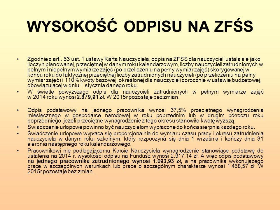 ROSZCZENIA ZWIĄZKÓW ZAWODOWYCH Stosownie do wyroku SN z dnia 19 listopada 1997 r., I PKN 373/97, OSNP 1998, nr 17, poz.