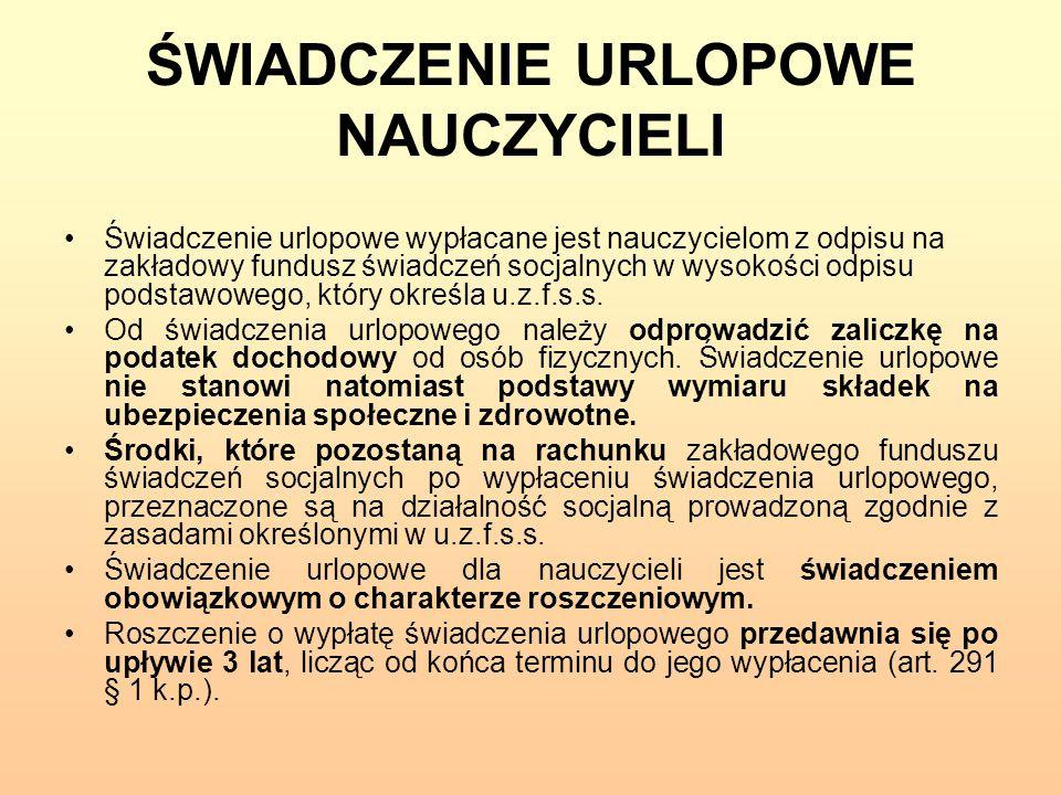 RODZAJE POMOCY SOCJALNEJ II.