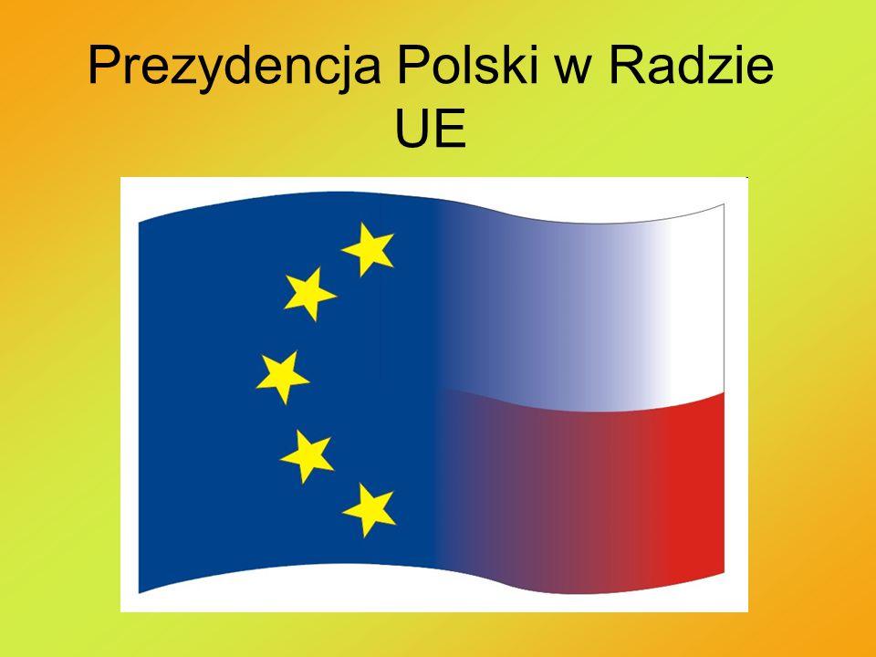 Cele i rezultaty projektu Celem naszej prezentacji było sprawdzenie jak ważna jest Prezydencja Polski w Radzie UE oraz przedstawienie naszych informacji uczniom klasy.