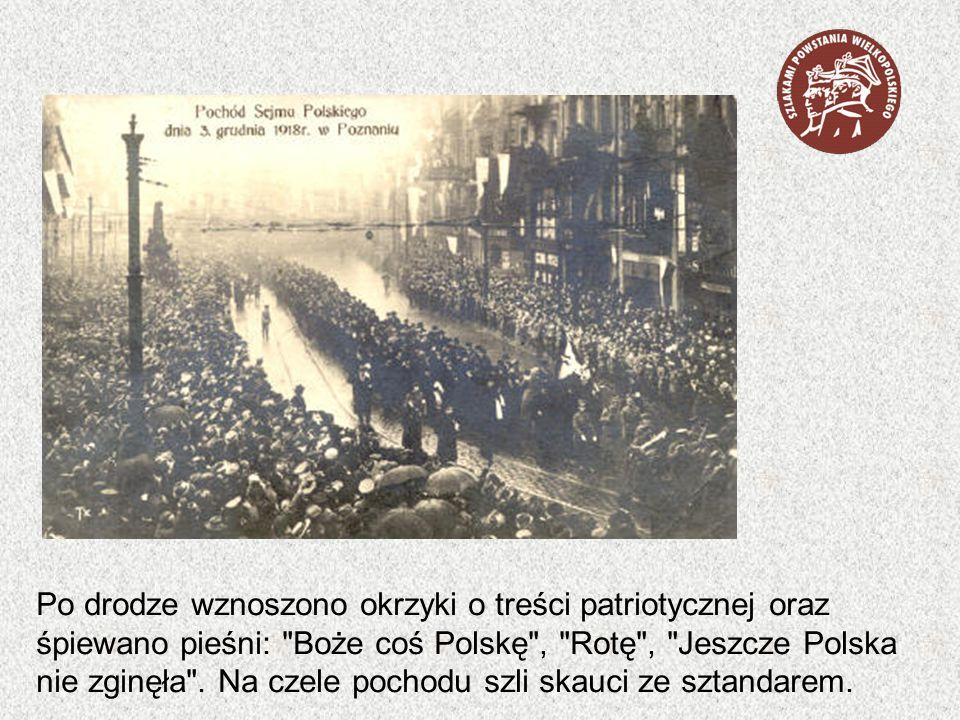 Do stolicy Wielkopolski przyjechało około 1100 spośród wybranych delegatów.