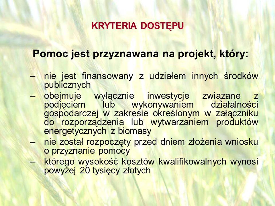 opracował: Bartłomiej Raczek23 POZIOM WSPARCIA Poziom wsparcia – maksymalnie 50% kosztów kwalifikowalnych Rodzaj Beneficjenta lub inwestycji 100 000 PLN - działalność dotyczy przetwórstwa produktów rolnych lub jadalnych produktów leśnych - wynikiem inwestycji jest powstanie 1 miejsca pracy.
