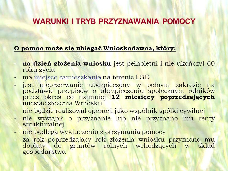 opracował: Bartłomiej Raczek33 KOSZTY KWALIFIKOWALNE Pomoc przyznaje się na operację obejmującą wyłącznie inwestycje związane z podjęciem lub prowadzeniem działalności nierolniczej w zakresie: - określonym w załączniku do rozporządzenia z dnia 17 października 2007r.