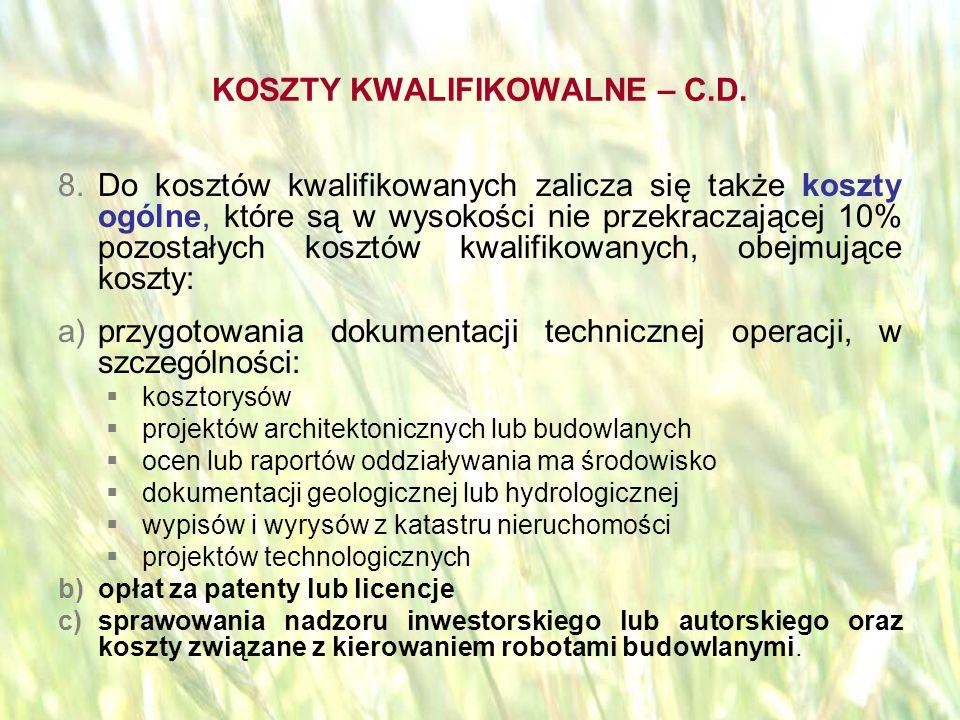 opracował: Bartłomiej Raczek38 BRAK FINANSOWANIA Wsparciu finansowemu nie podlegają w szczególności:  koszty podatku VAT  koszty zakupu używanego sprzętu, maszyn i urządzeń.