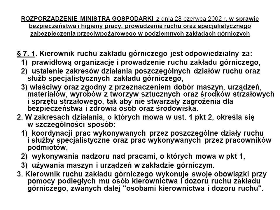 ROZPORZĄDZENIE MINISTRA GOSPODARKI z dnia 28 czerwca 2002 r.