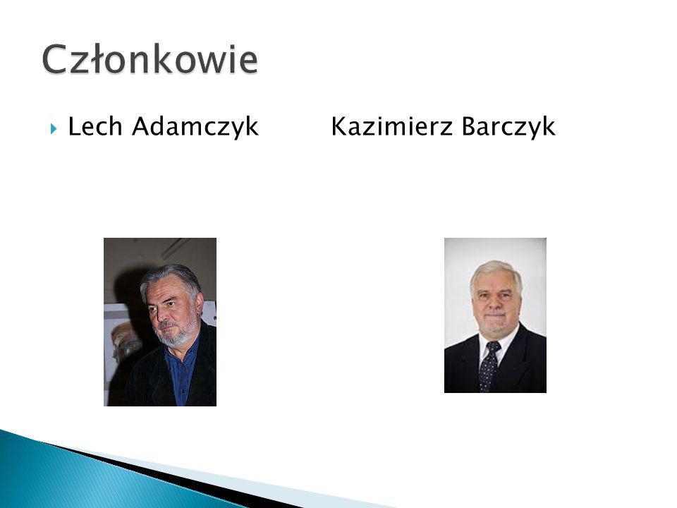  Lech Adamczyk Kazimierz Barczyk