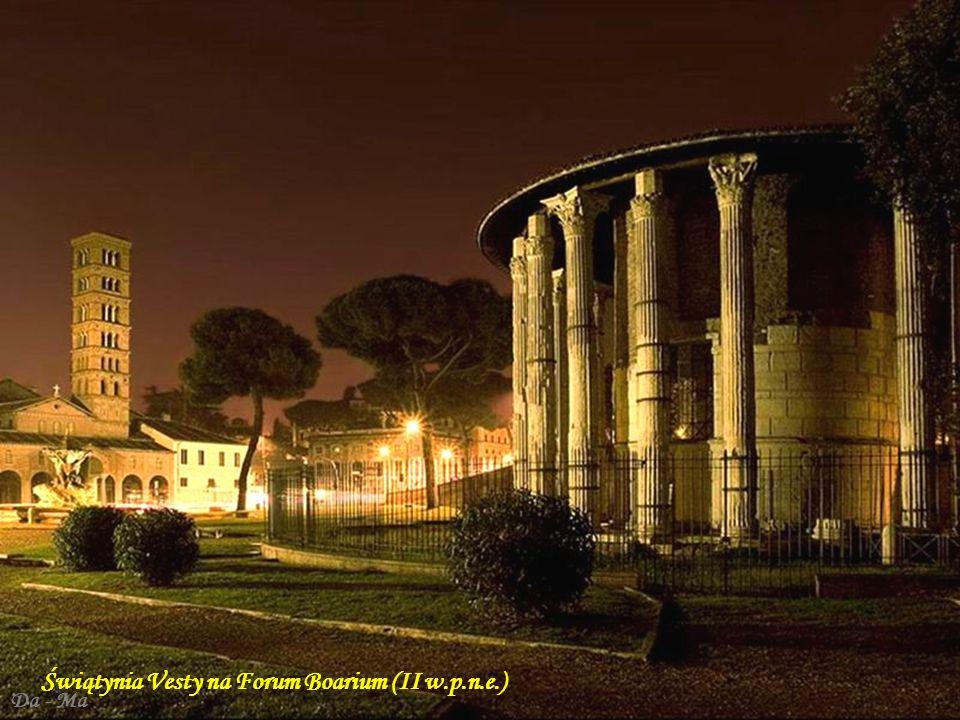 Da - Ma Panteon – ufundowany w 27 r. przez Marka Agryppę, po pożarze w 80 r. odbudowany w 125 r. przez cesarza Hadriana Marek Agryppa