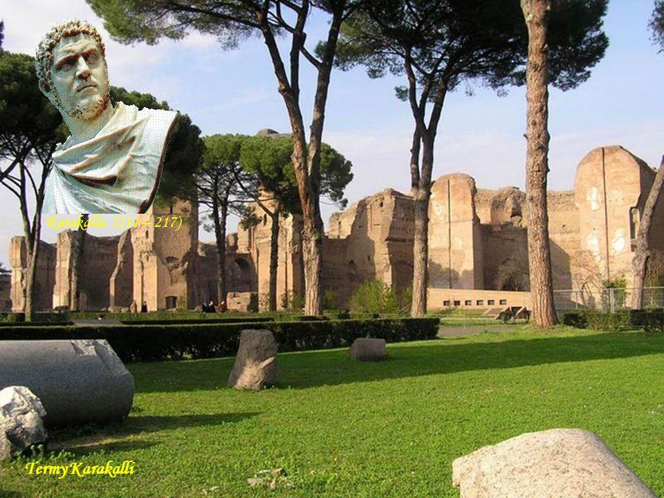 Da - Ma aqueduct Mur Aureliański, Porta Maggiore i aqueduct (przy tej bramie zbiegało się 11 akweduktów) Marek Aureliusz