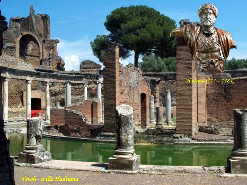 Da - Ma Tivoli – willa Hadriana (świątynia Wenus)