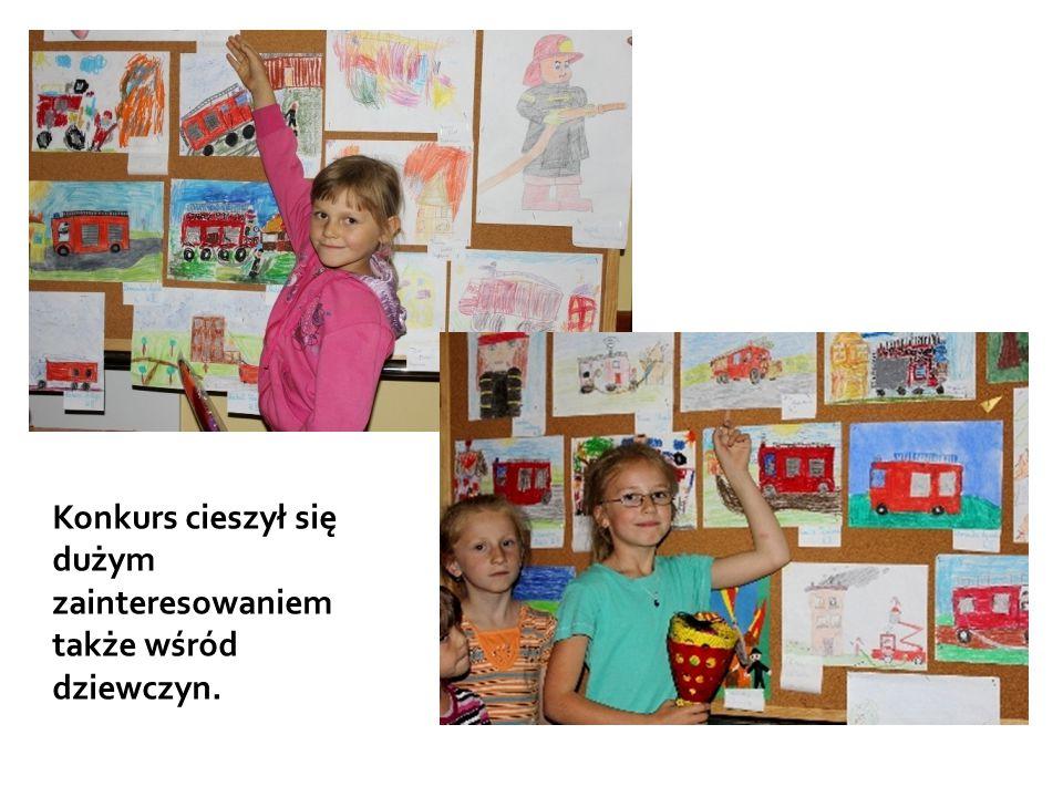 Konkurs cieszył się dużym zainteresowaniem także wśród dziewczyn.
