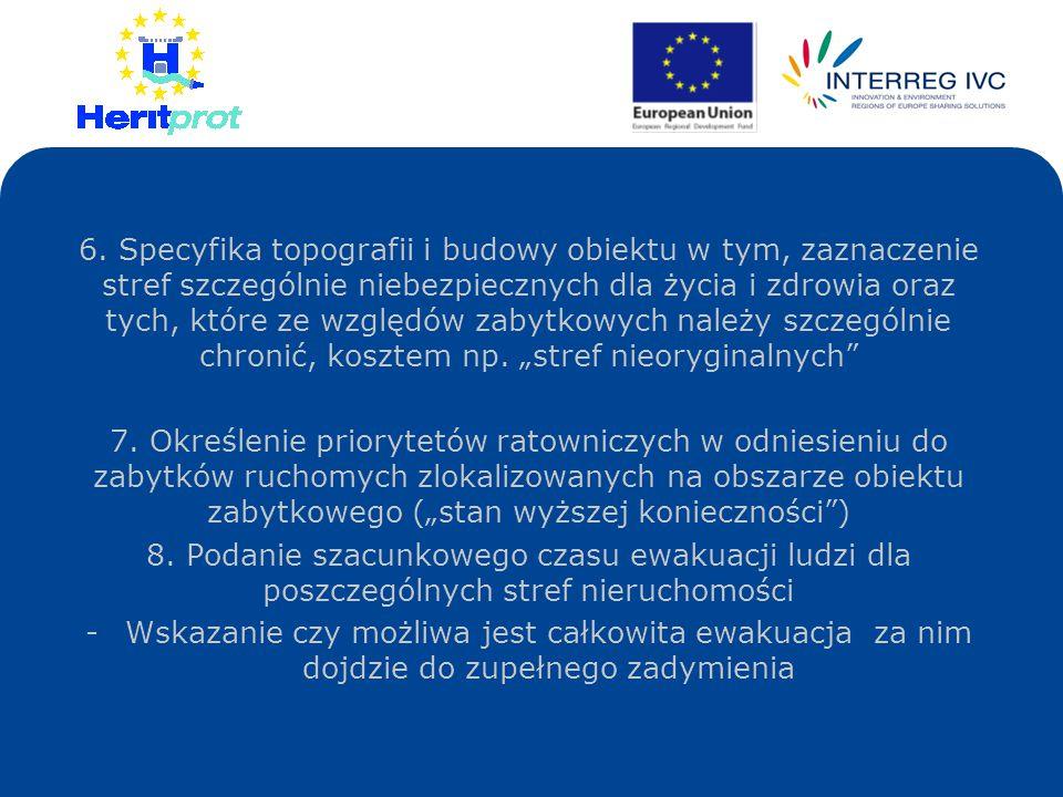 W przypadku pozytywnego rezultatu pilotażu CPOZ : Rozważyć możliwość stworzenia Europejskiego Internetowego Systemu Certyfikatów Pożarowych Obiektów Zabytkowych (EIS CPOZ) Podmioty uprawnione do korzystania z zasobów EIS: służby ratownicze państw UE + państwowe i międzynarodowe podmioty zobowiązane do ochrony i opieki nad zabytkami