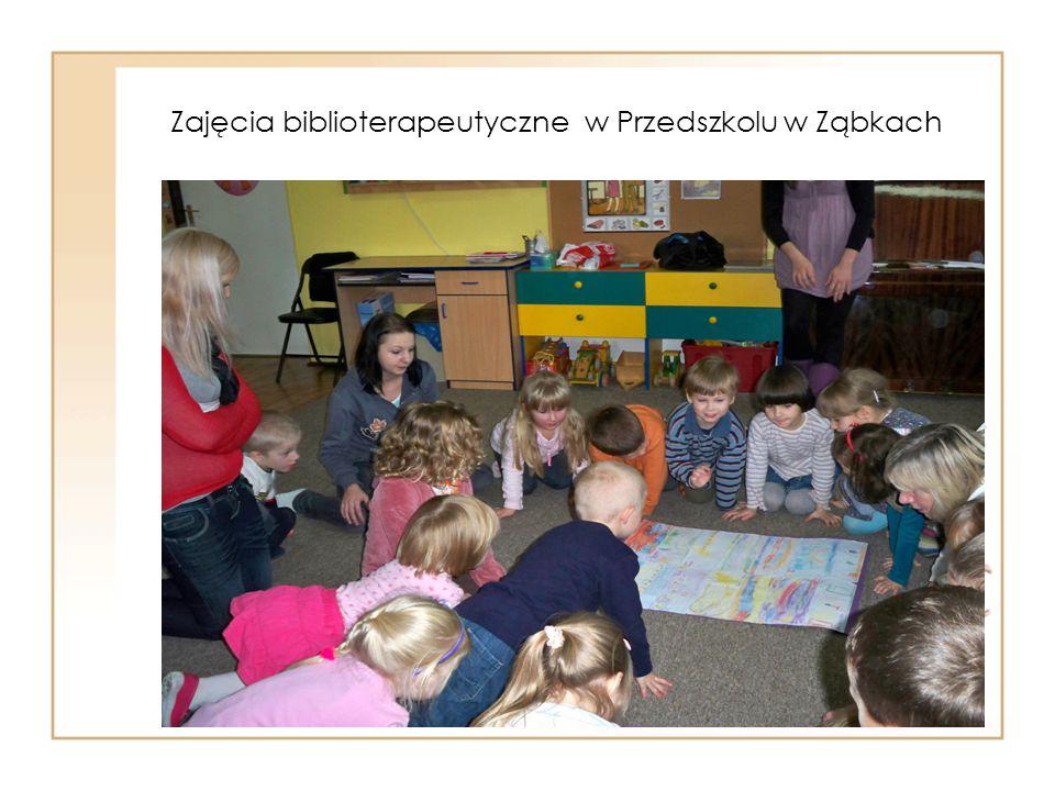 Zajęcia biblioterapeutyczne w Przedszkolu w Ząbkach
