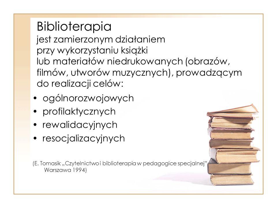 Historia metody biblioterapii w MOW nr 2: W latach 1991-92 w Młodzieżowym Ośrodku Wychowawczym Nr 2 w Warszawie, ul.