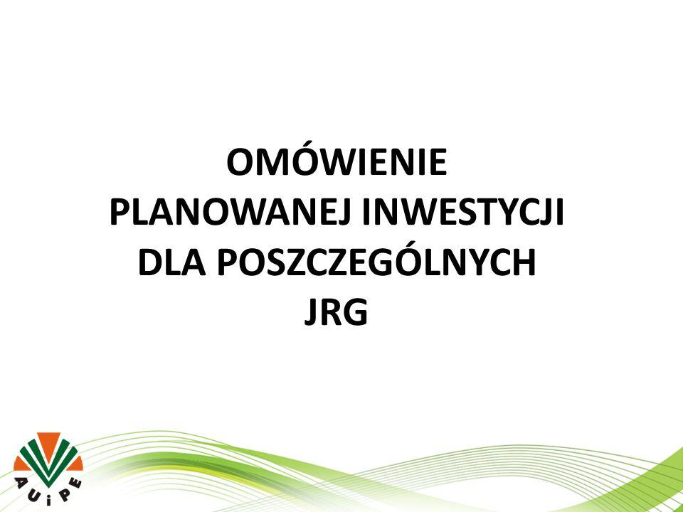 JRG 11 Łódź ul.Retkińska 129 ZAKRES RZECZOWY INWESTYCJI ZAKRES RZECZOWYILOŚĆJM.
