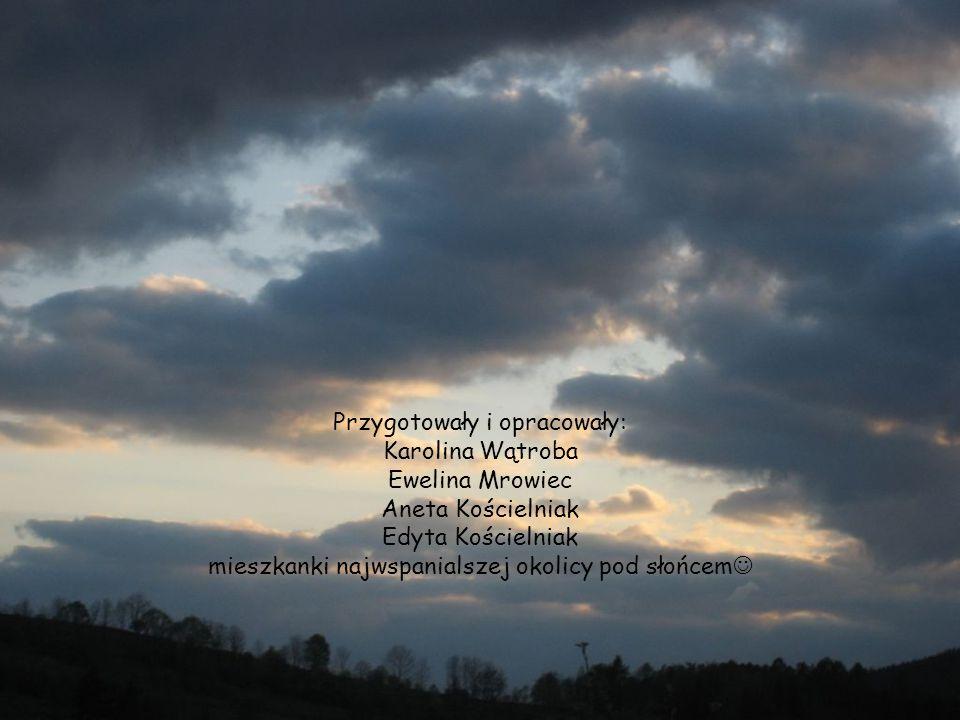 Przygotowały i opracowały: Karolina Wątroba Ewelina Mrowiec Aneta Kościelniak Edyta Kościelniak mieszkanki najwspanialszej okolicy pod słońcem