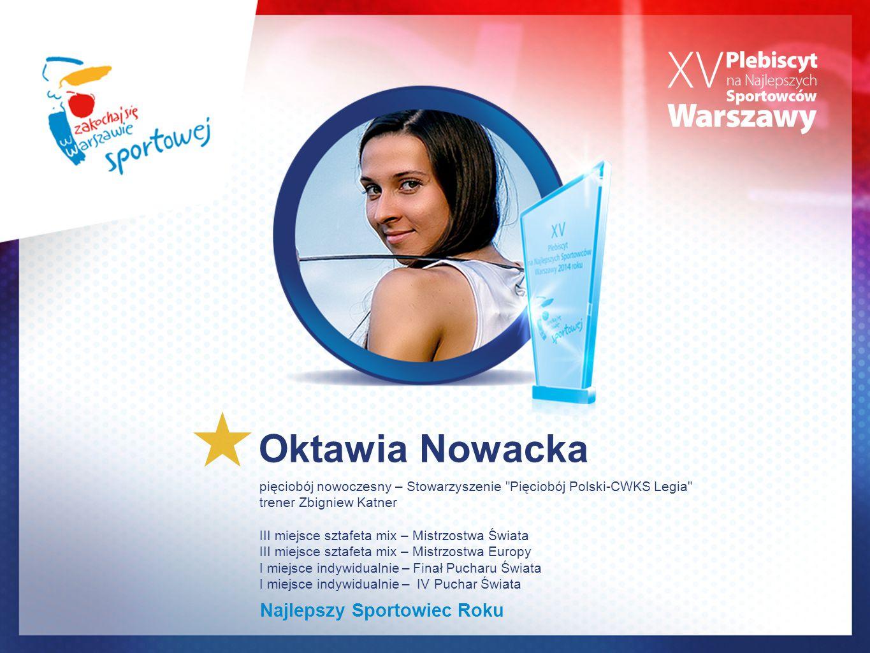 Oktawia Nowacka pięciobój nowoczesny – Stowarzyszenie