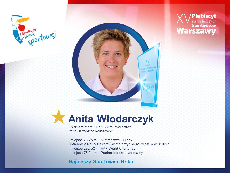 Anita Włodarczyk LA rzut młotem - RKS
