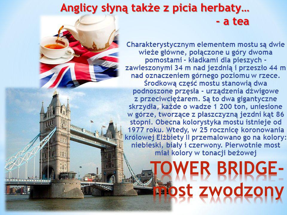 Charakterystycznym elementem mostu są dwie wieże główne, połączone u góry dwoma pomostami - kładkami dla pieszych - zawieszonymi 34 m nad jezdnią i pr