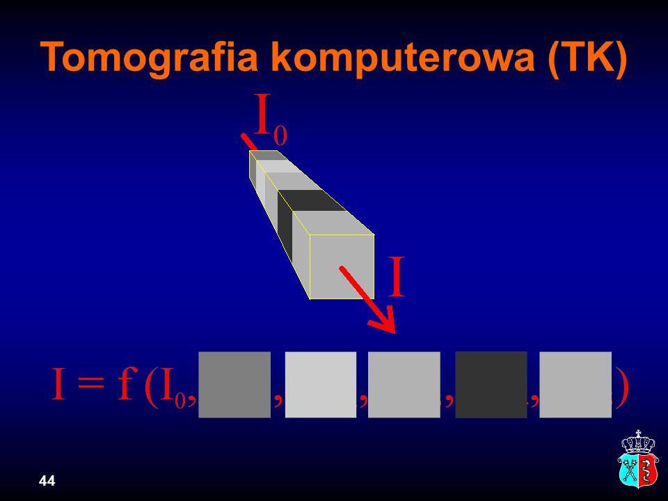 44 Tomografia komputerowa (TK)