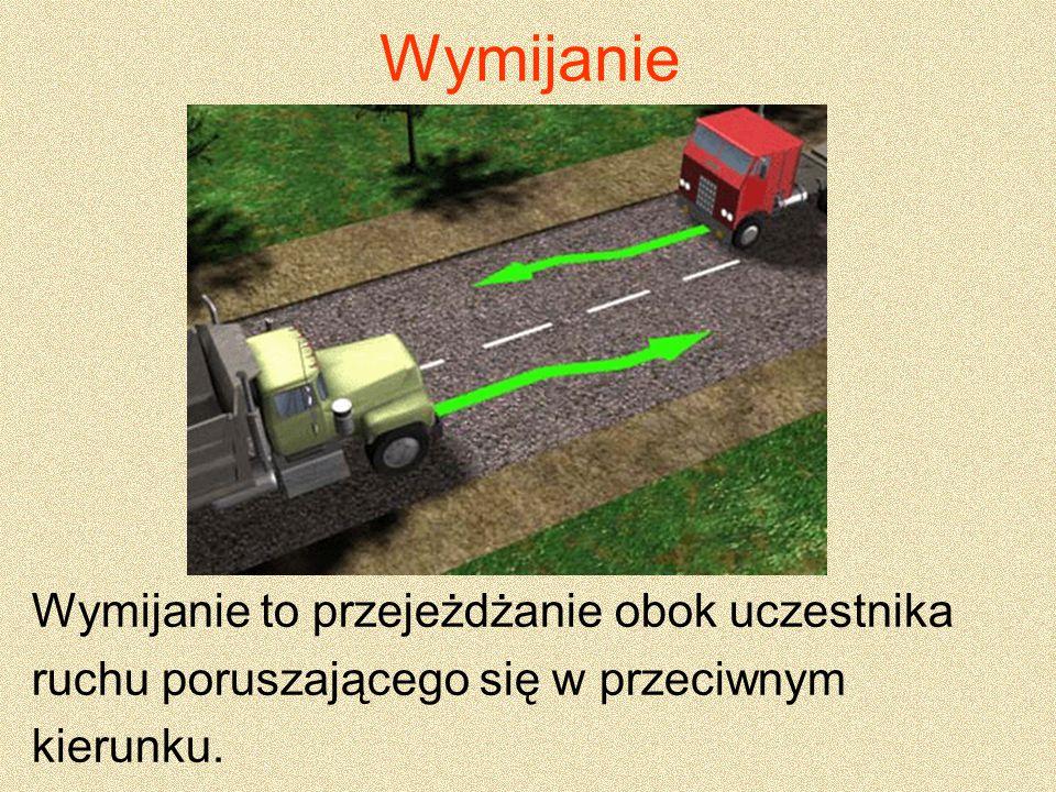 Dopuszcza się wyprzedzanie: 1) na zakręcie oznaczonym znakami ostrzegawczymi na jezdni jednokierunkowej lub dwukierunkowej z wyznaczonymi pasami ruchu.