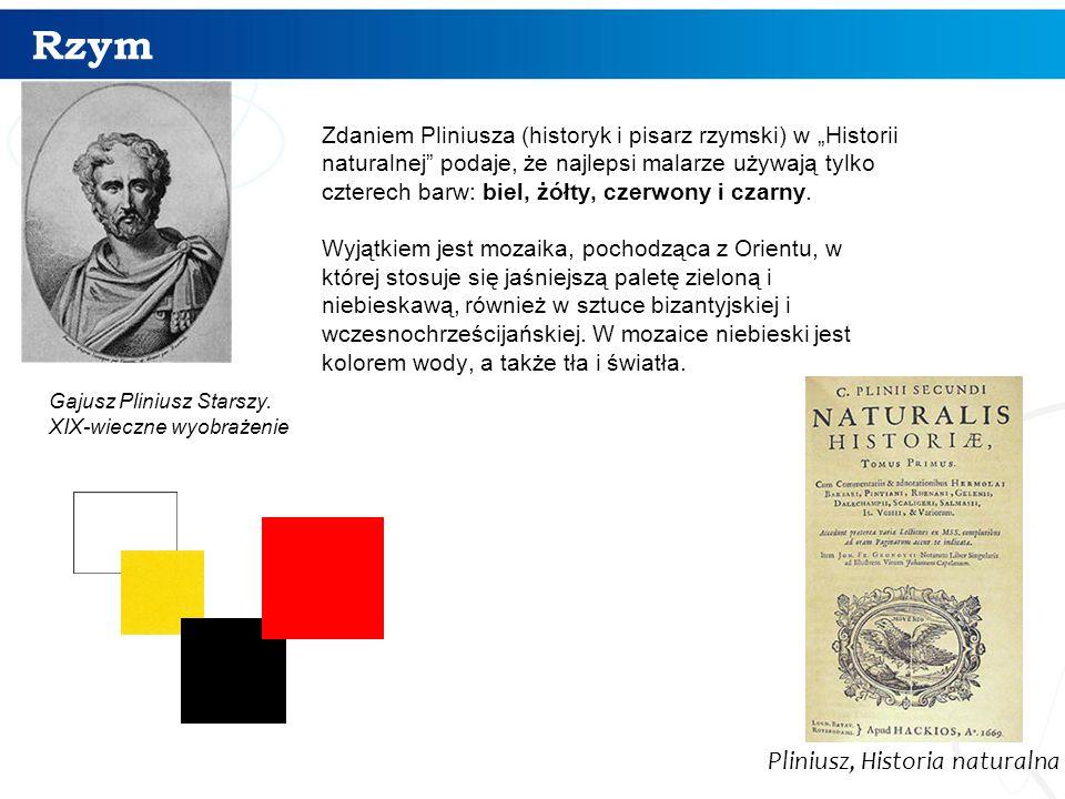 Rzym 8 Gajusz Pliniusz Starszy.