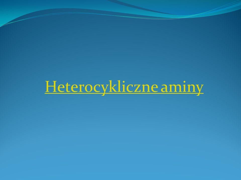Heterocykliczne aminy