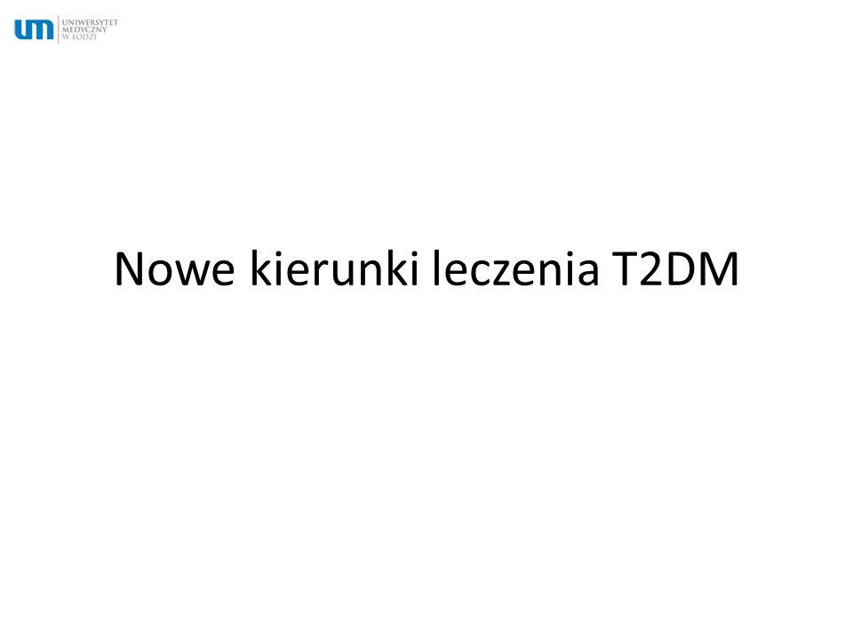 Nowe kierunki leczenia T2DM
