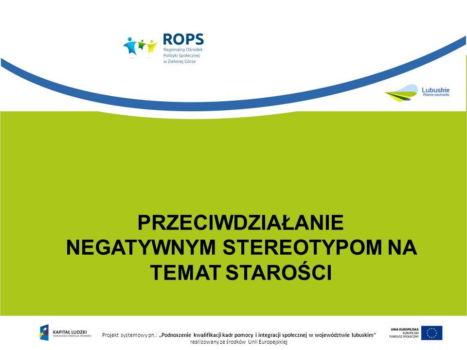 """Projekt systemowy pn.: """"Podnoszenie kwalifikacji kadr pomocy i integracji społecznej w województwie lubuskim realizowany ze środków Unii Europejskiej Zabawa """"Biuro matrymonialne"""
