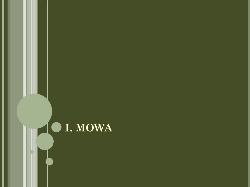 I. MOWA