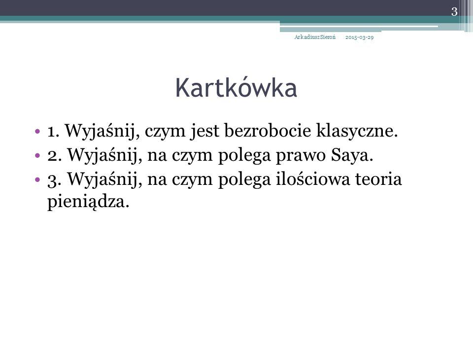 Szkoła postkeynesowska Uogólnienie Ogólnej teorii.
