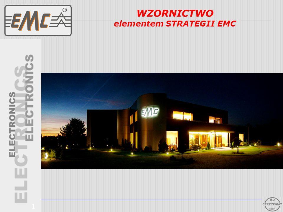 Najwyższa jakość Innowacyjność Atrakcyjna cena Projektowanie i Produkcja 2 WZORNICTWO elementem STRATEGII EMC