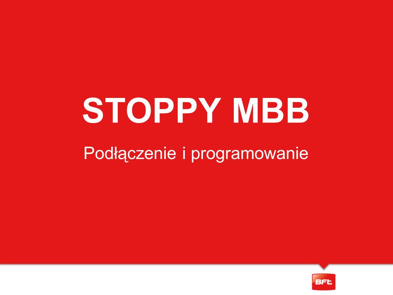 STOPPY MBB Podłączenie i programowanie