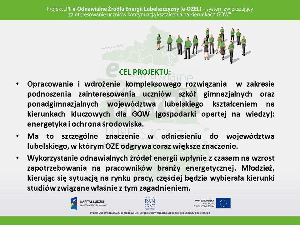 REKRUTACJA SZKÓŁ (XII 2013 / I 2014): Do etapu testowania zostały zakwalifikowane 24 szkoły, które reprezentowały wszystkie 24 powiaty z województwa lubelskiego.