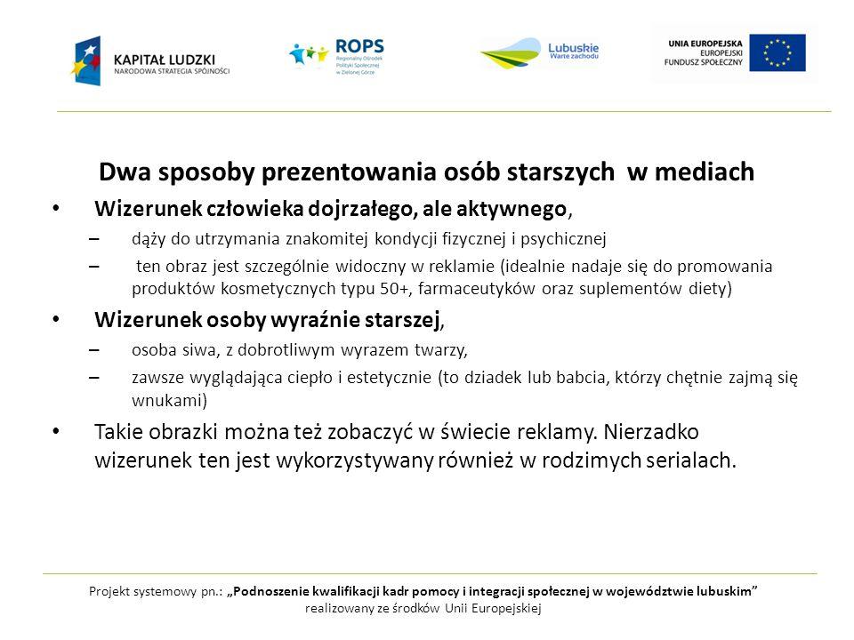 """Projekt systemowy pn.: """"Podnoszenie kwalifikacji kadr pomocy i integracji społecznej w województwie lubuskim realizowany ze środków Unii Europejskiej Czego nie ma w mediach."""
