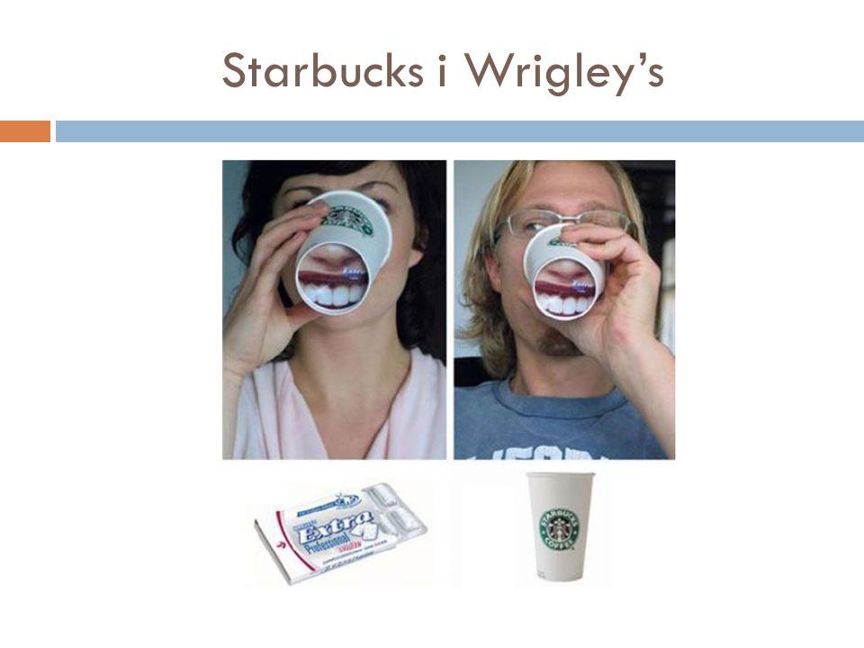 Starbucks i Wrigley's
