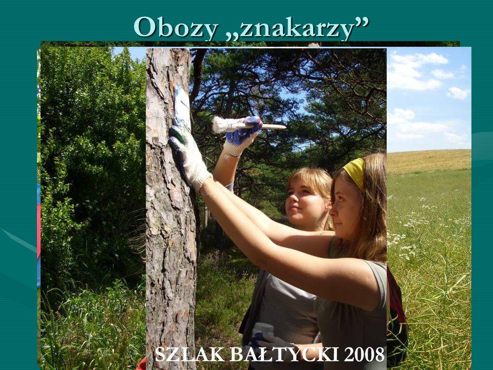 """KOCIEWIE 2007 Obozy """"znakarzy KASZUBY 2007 SZLAK DOLNEJ WISŁY 2008 SZLAK BAŁTYCKI 2008"""