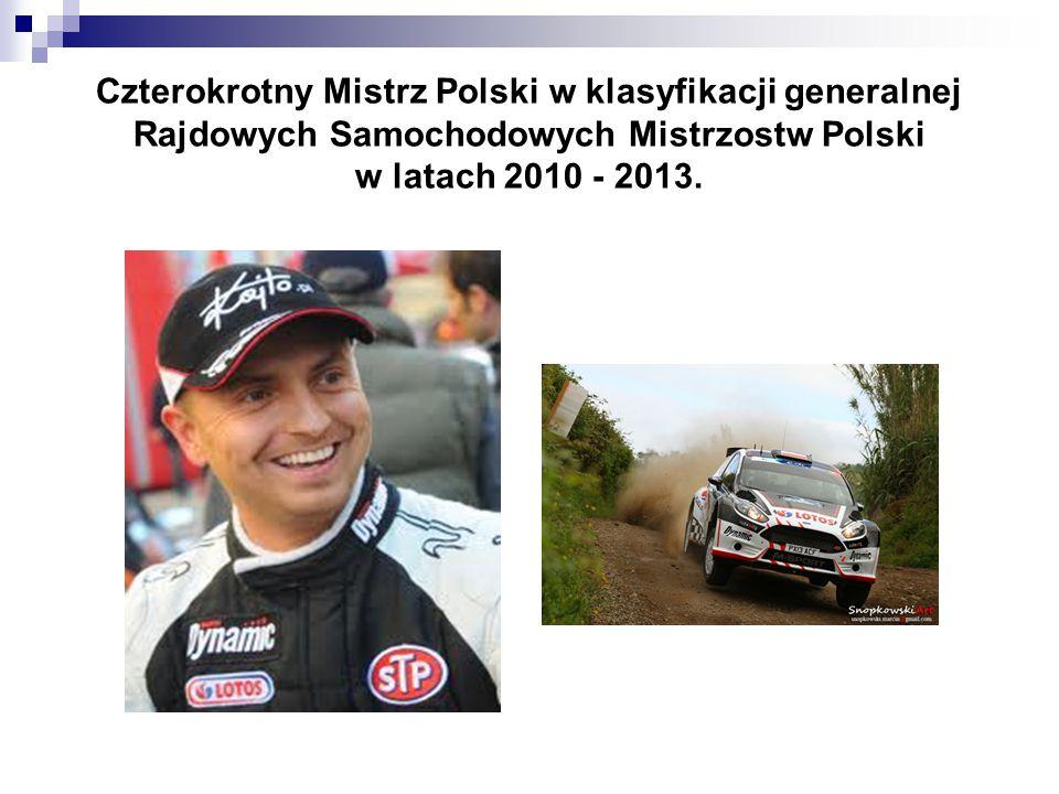 ♦ W 2006 roku rozpoczął straty w klasie N4, a pierwsze zwycięstwo w klasyfikacji generalnej RSMP zdobył w Rajdzie Elmot 2007.