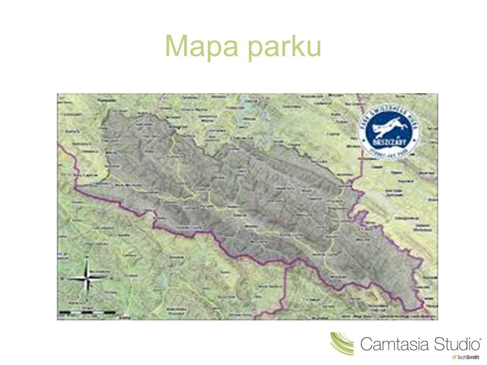 O parku Najwyższe szczyty w parku sięgają prawie 1200 m n.p.m.