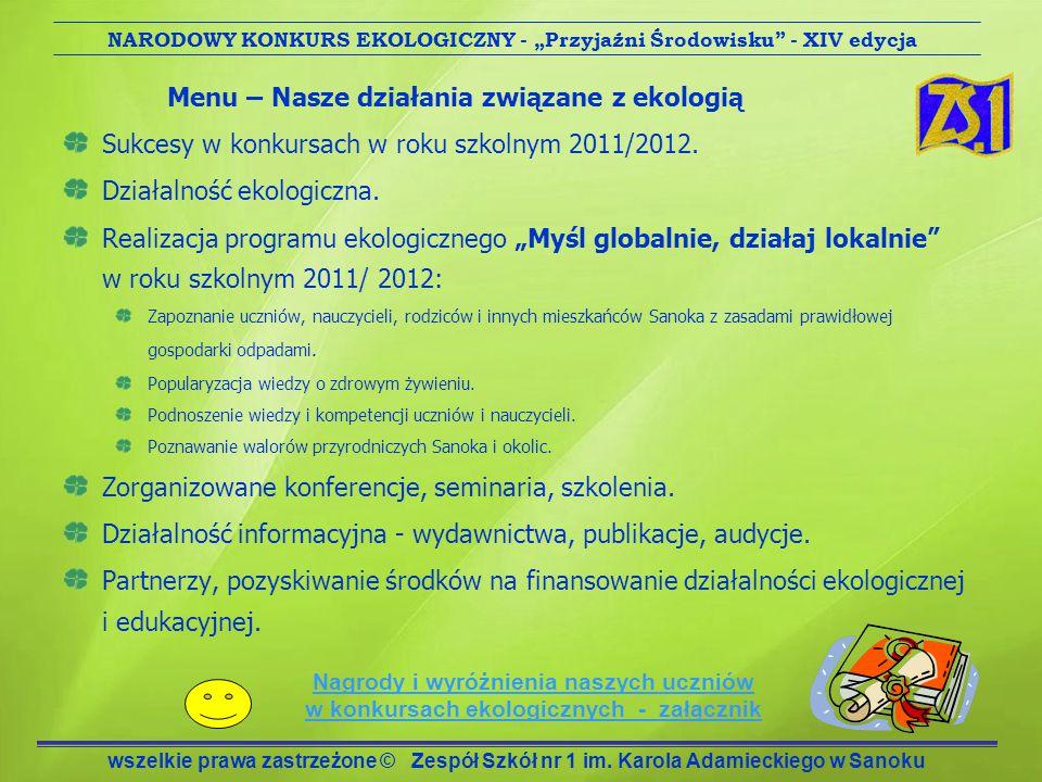 Działalność informacyjna - wydawnictwa, publikacje, audycje.